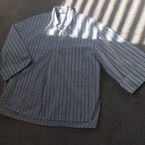 Brand New Mango Oversized Stripe Shirt in Size M